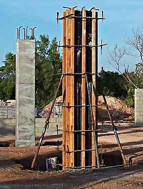 Type Columns (Concrete Columns)