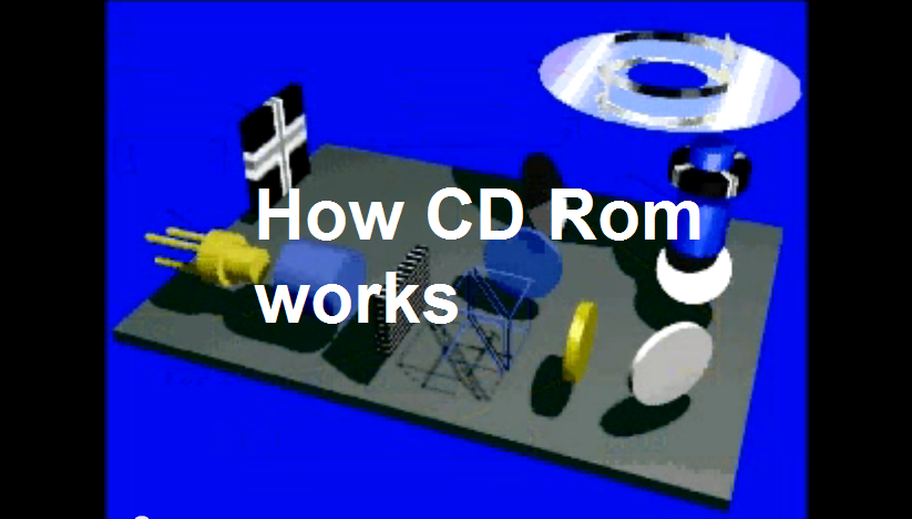 How CD rom works