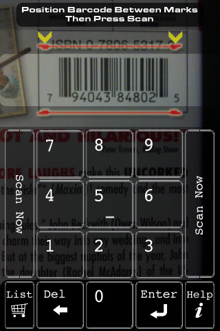 Barcode Scan Application For Lg840g Phone