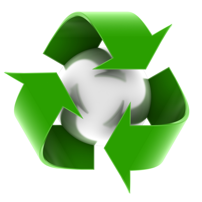waste management recycling logo